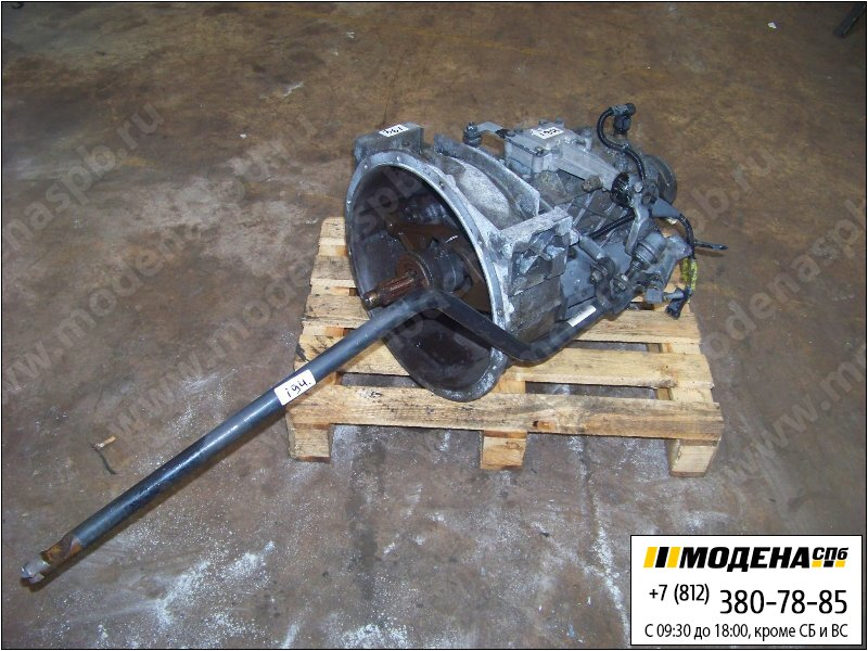 запчасти daf Коробка передач ZF Ecolite S5-42 механическая (Ratio: 4,65-0,772)  ATRA017