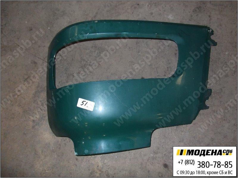 запчасти daf Облицовка фары левой, цвет зелёный  1363373