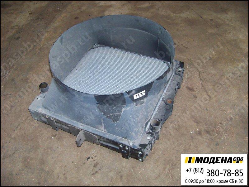запчасти daf Радиатор двигателя без интеркулера (529x523x58mm)  1407721