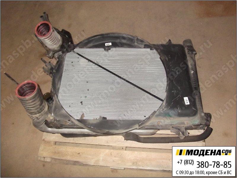 запчасти daf Радиатор двигателя с радиатором кондиционера и интеркулером в сборе (950x610x58mm)  1434917