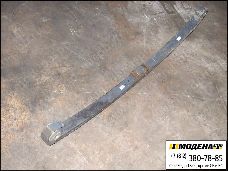 запчасти daf Рессора передняя двухлистовая 1800/900х900 mm  1381683