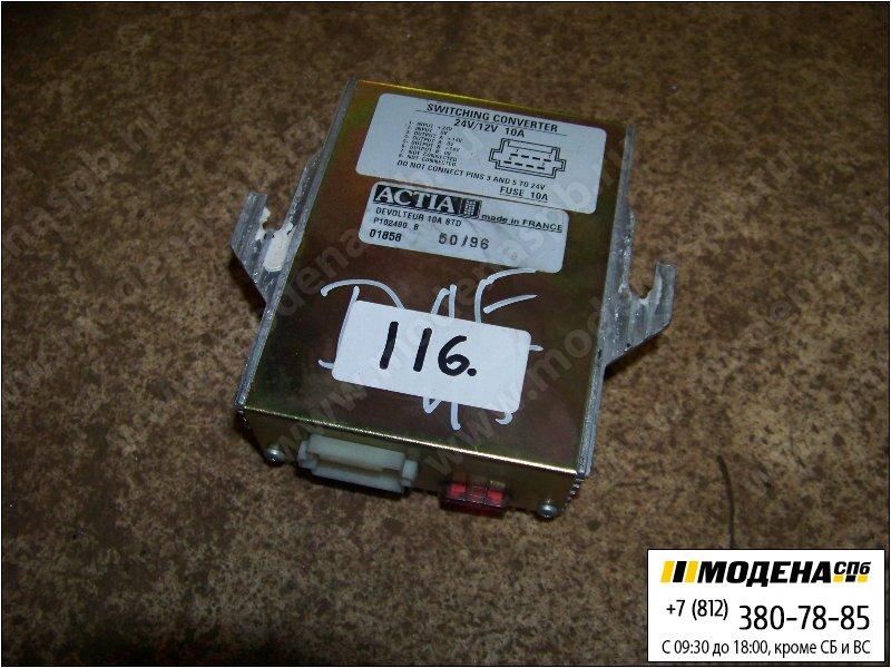 запчасти daf Трансформатор (преобразователь) напряжения 12/24V  Actia P102480B