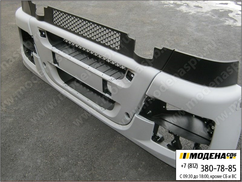 запчасти iveco Бампер передний (новый), под покраску  504287143