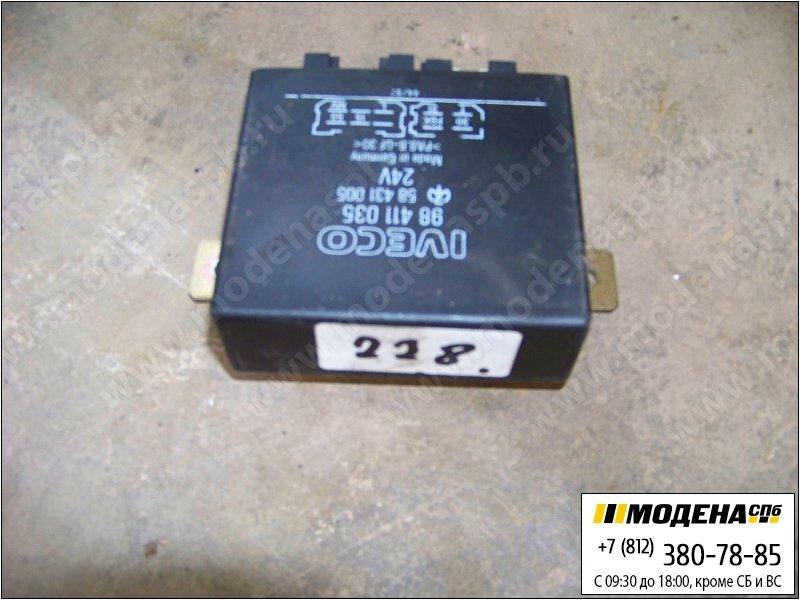 запчасти iveco Блок управления поворотниками  98411035