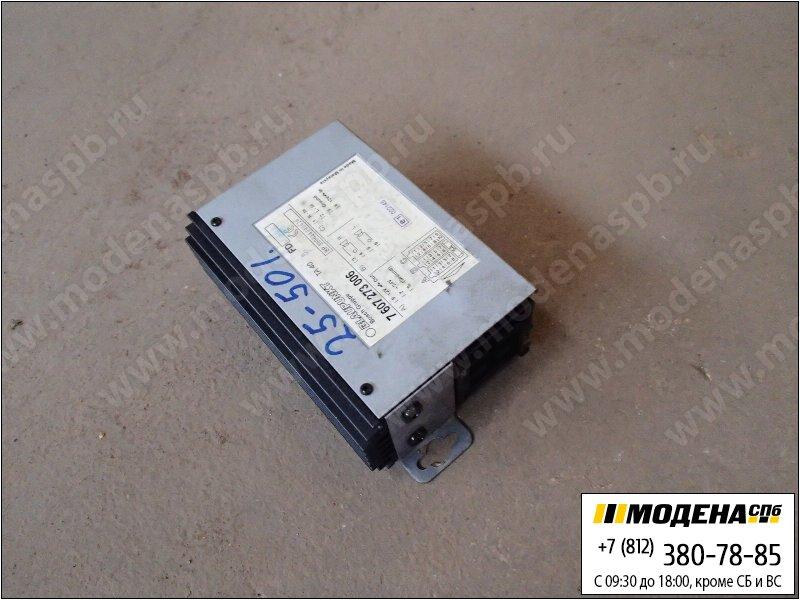 запчасти iveco Блок управления спикер кроссовер  Blaupunkt 7607273006