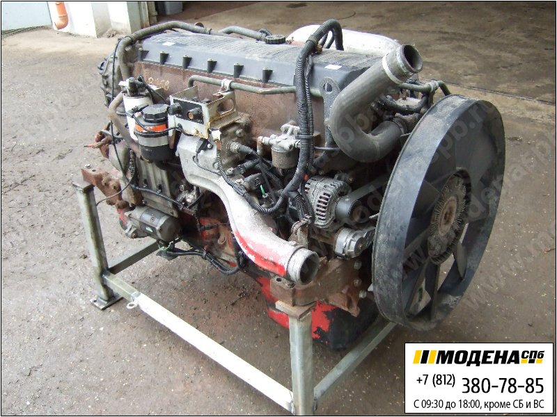запчасти iveco Двигатель дизельный 390 л.с. 287 кВт, 10300 см.куб  CURSOR 10 F3AE0681B