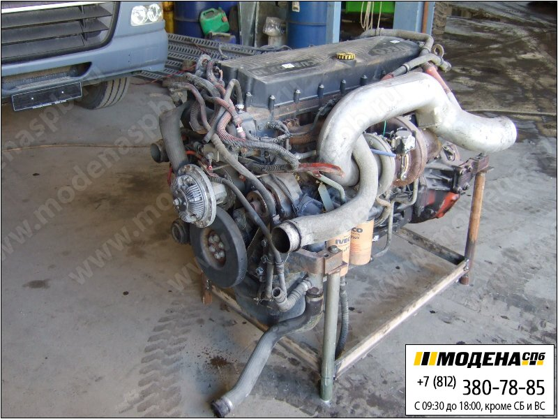 запчасти iveco Двигатель дизельный 430 л.с. 316 кВт, 10300 см.куб  CURSOR 10 F3AE0681D