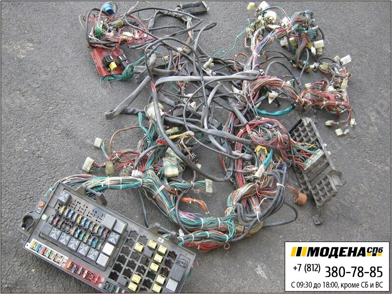 запчасти iveco Электропроводка (коса) кабины