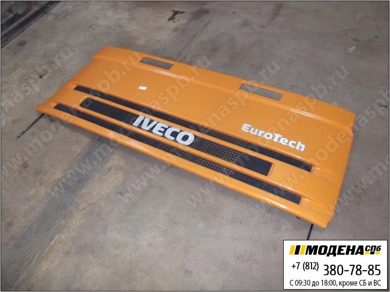запчасти iveco Капот, цвет оранжевый  8143899