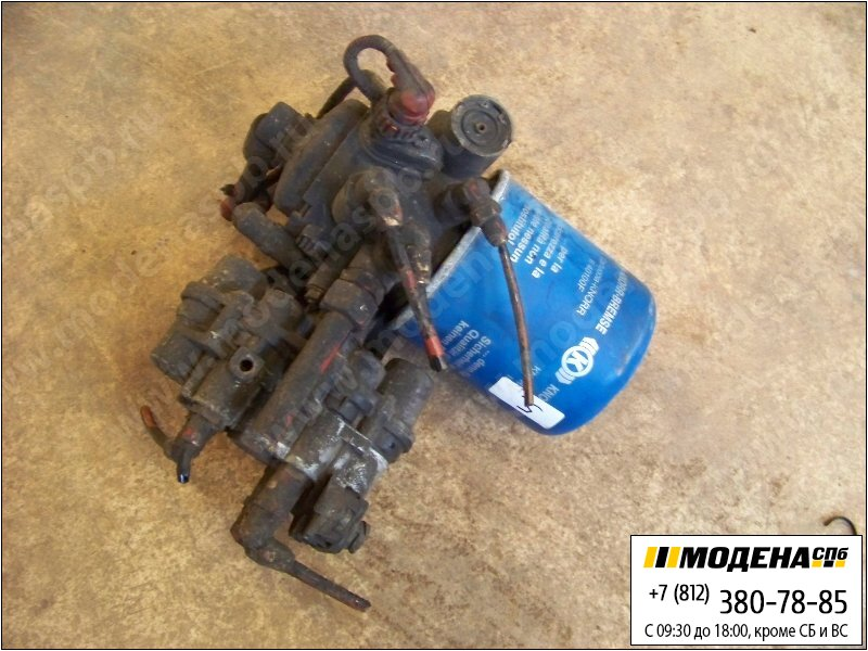 запчасти iveco Клапан защитный четырехконтурный с осушителем воздуха в сборе  Knorr-Bremse LA8125