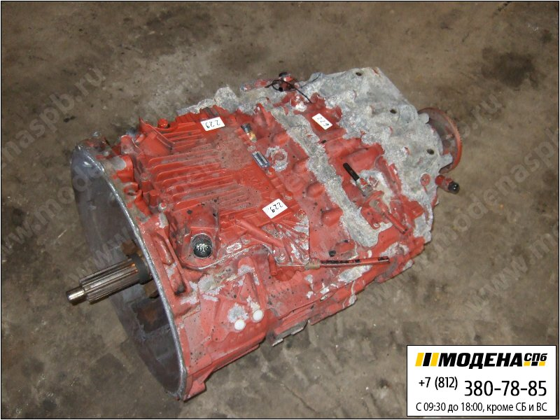 запчасти iveco Коробка передач ZF 12AS2301 DD AS-Tronic (Ratio: 15,86-1,00)  8869901