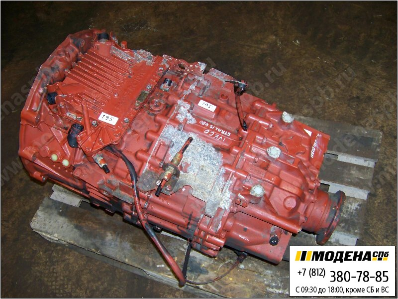 запчасти iveco Коробка передач ZF 16AS2601 AS-Tronic (Ratio: 17,03-1,00)  8869907