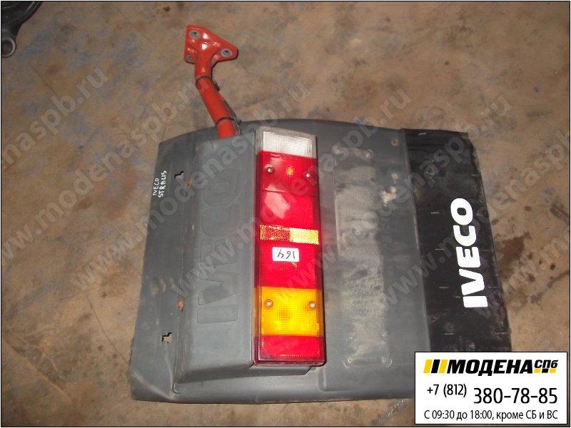 запчасти iveco Крыло заднее левое с фонарем и кронштейном  41213750