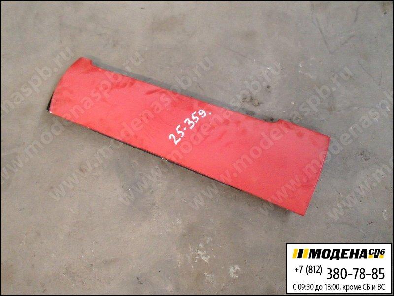 запчасти iveco Накладка кабины левая, цвет красный  8143813