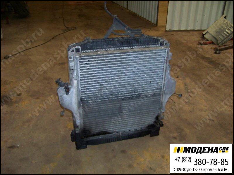 запчасти iveco Радиатор двигателя FIAT с интеркулером в сборе (799x725x42mm)  99463228