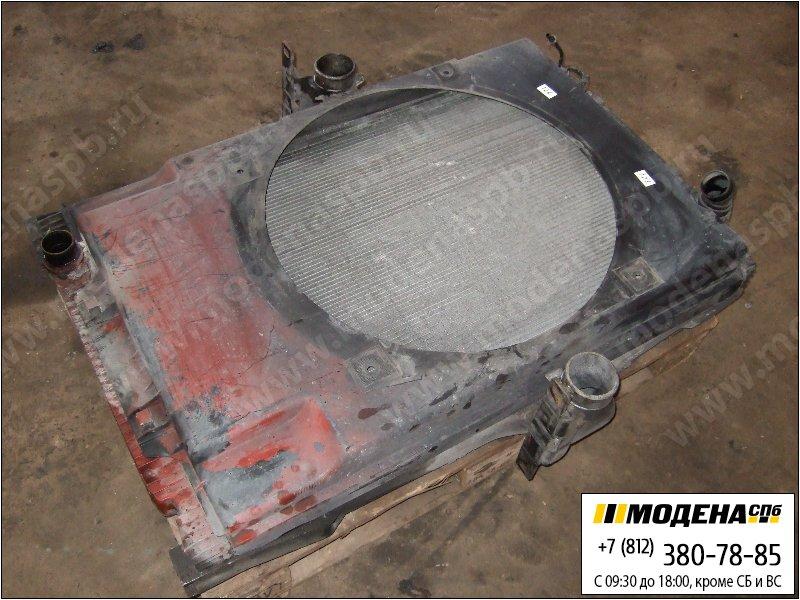 запчасти iveco Радиатор двигателя с интеркулером и радиатором кондиционера в сборе  41214447