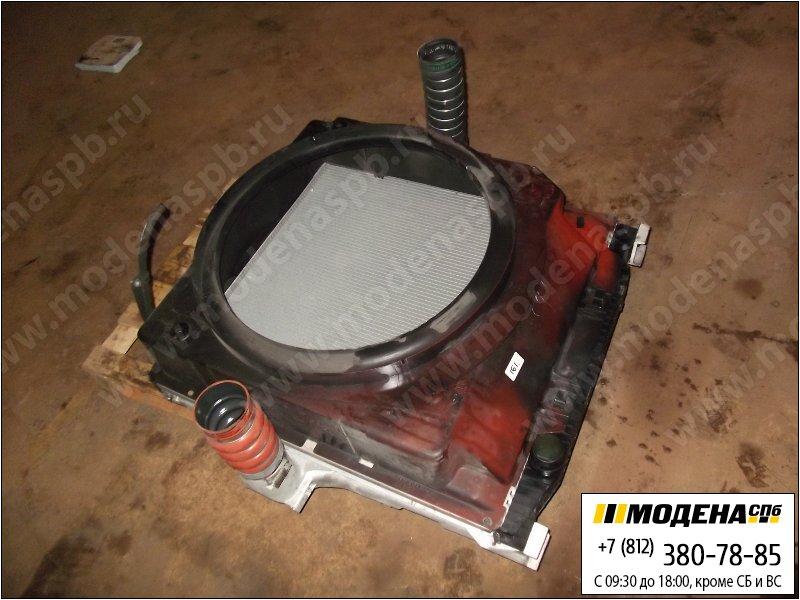 запчасти iveco Радиатор двигателя с интеркулером в сборе  41218266