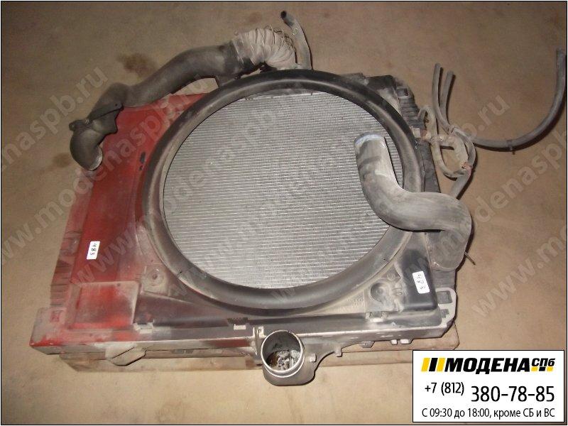 запчасти iveco Радиатор двигателя с интеркулером в сборе  500340742