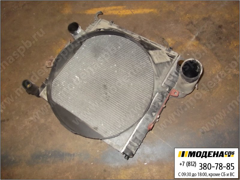 запчасти iveco Радиатор двигателя с интеркулером в сборе (543x559x40mm)  98425619