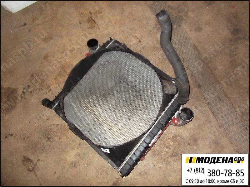 запчасти iveco Радиатор двигателя с интеркулером в сборе  98425619