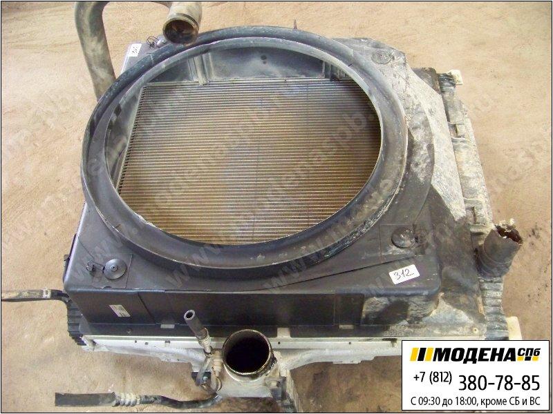 запчасти iveco Радиатор двигателя с радиатором кондиционера и интеркулером в сборе (651x772x50mm)  41218267