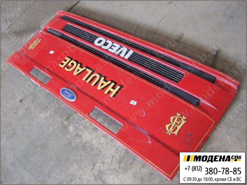 запчасти iveco Решетка радиатора, цвет красный  8143891