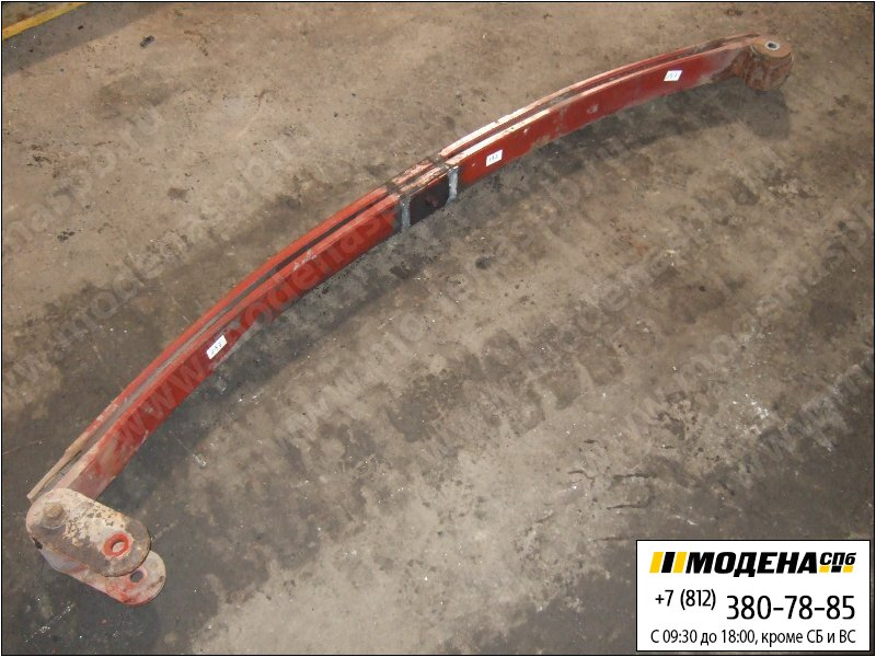 запчасти iveco Рессора передняя двухлистовая  41033241