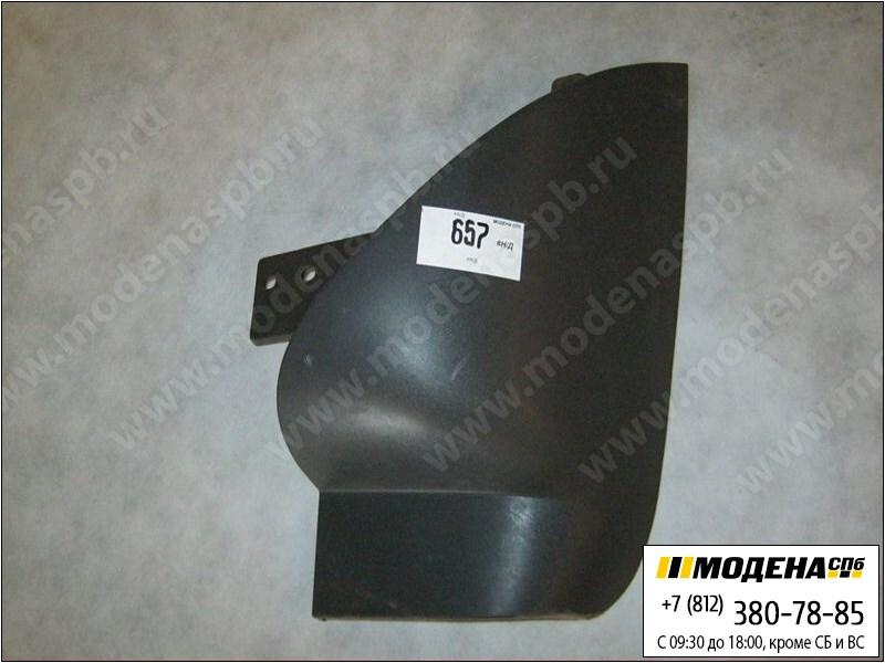 запчасти iveco Спойлер бампера левый угловой (новый)  504065984