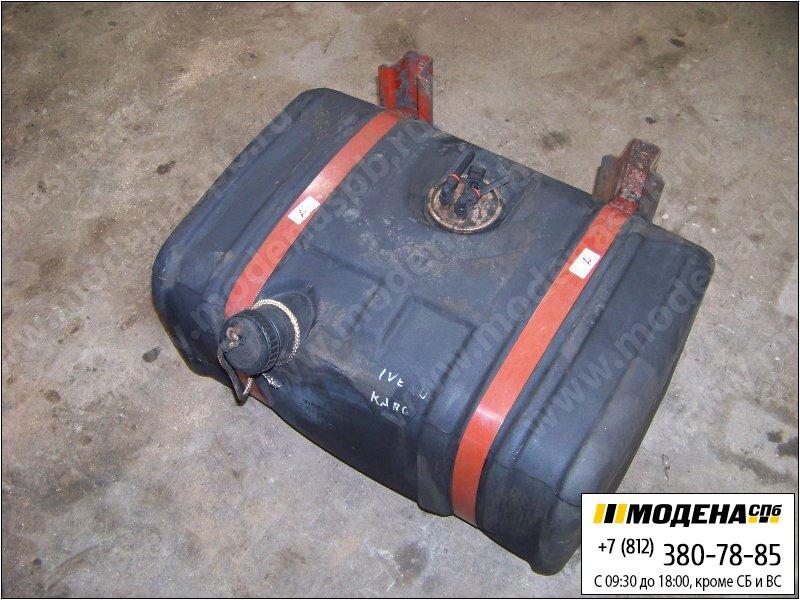 запчасти iveco Топливный бак 144 литров (750х520х370) с топливозаборником, крышкой и крепежом (пластик)  98409907