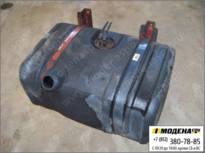 запчасти iveco Топливный бак 144 литров (750х520х370) с топливозаборником и крепежом (пластик)  98409907