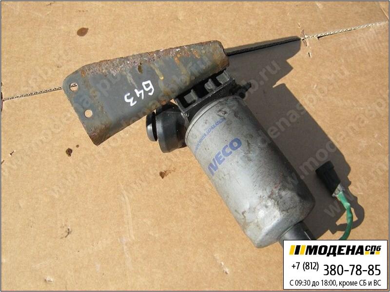 запчасти iveco Топливный насос ручной подкачки с корпусом фильтра в сборе и кронштейном  99460566