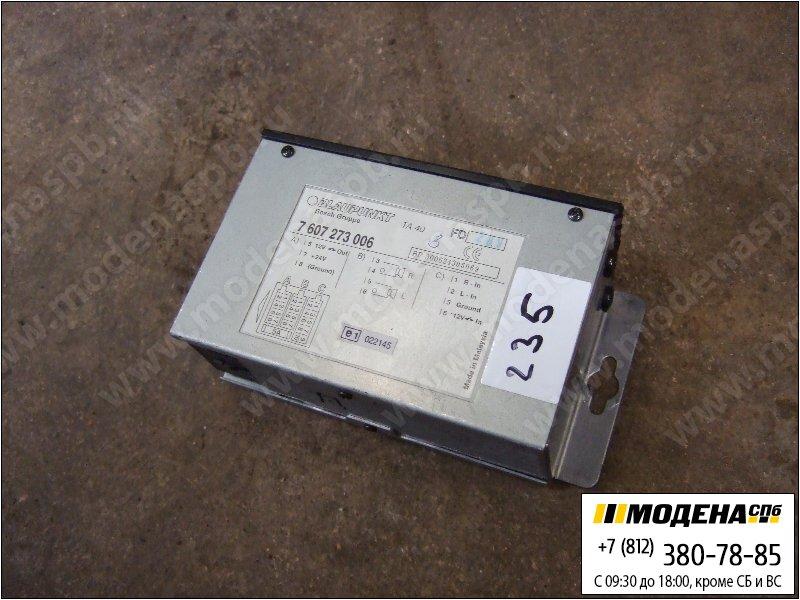 запчасти iveco Усилитель с преобразователем  Blaupunkt 7607273006