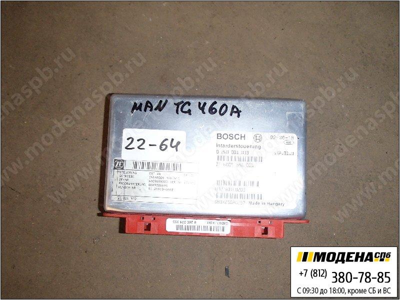 запчасти man Блок управления интардером  Bosch 0260001033