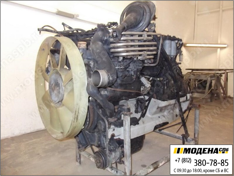запчасти man Двигатель дизельный 400 л.с. 294 кВт, 11967 см.куб  D2866 LF20