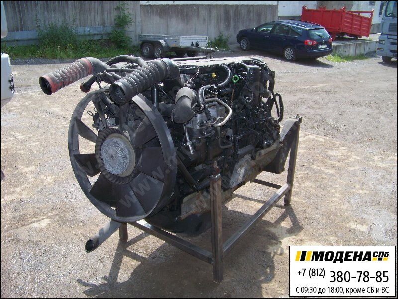 запчасти man Двигатель дизельный 410 л.с. 301 кВт, 11967 см.куб  D2866 LF28