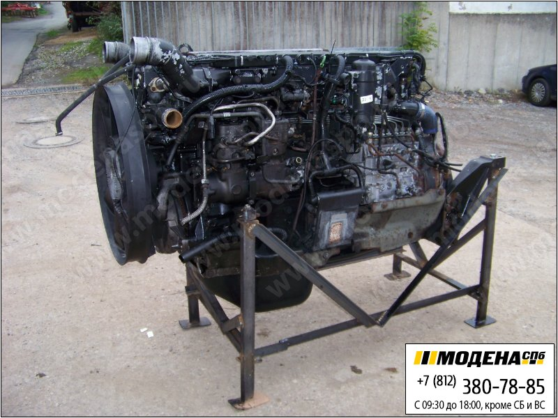 запчасти man Двигатель дизельный 460 л.с. 338 кВт, 12816 см.куб  D2876-LF04