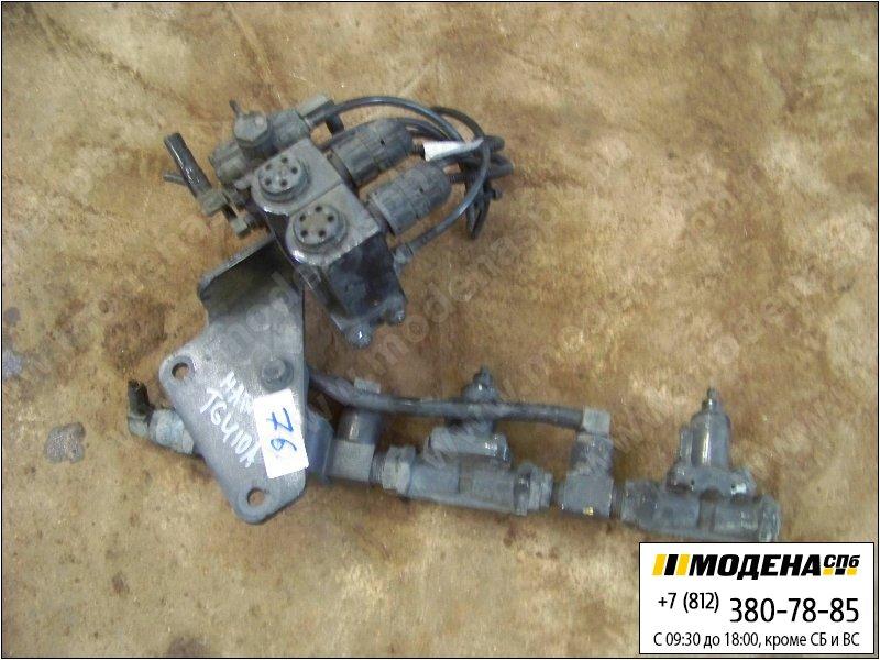 запчасти man Клапан обратный тормозной, регулятор давления  Wabco 4341000330