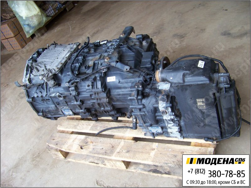 �������� man ������� ������� ZF 12AS2301IT AS-Tronic � ���������� �������������� (Ratio: 12,33-0,78)  81.32003-6741