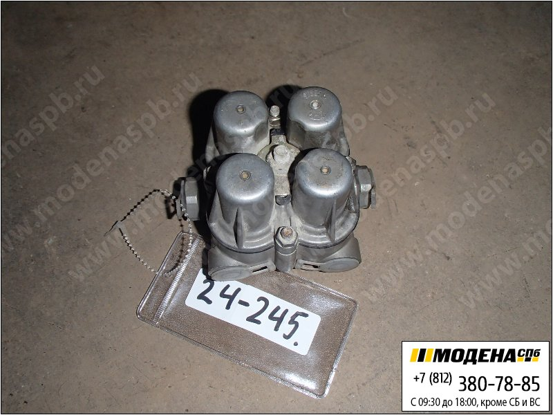 запчасти man Кран клапан защитный четырехконтурный  Knorr-Bremse AE4447