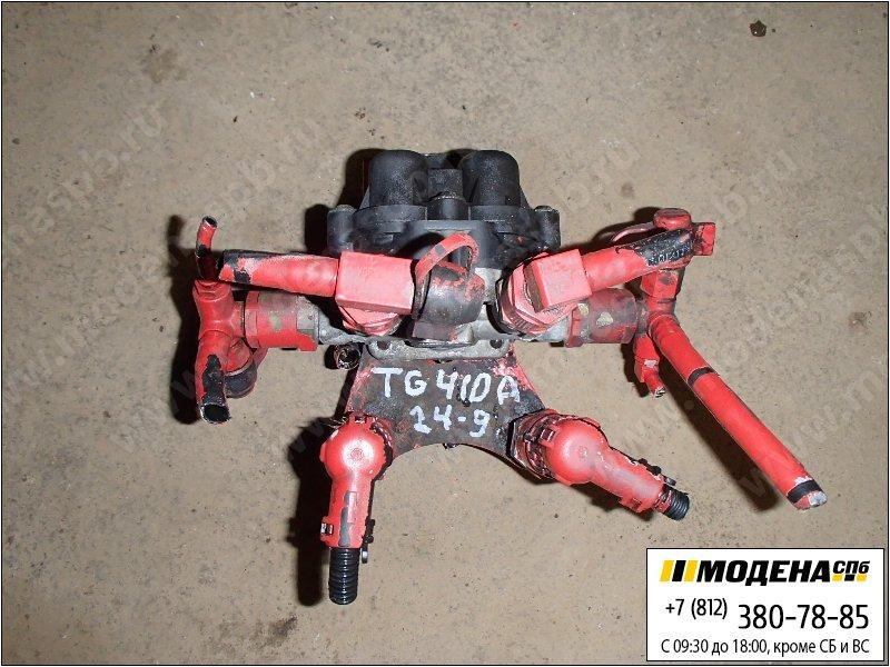запчасти man Кран клапан защитный четырехконтурный  Knorr-Bremse AE4613