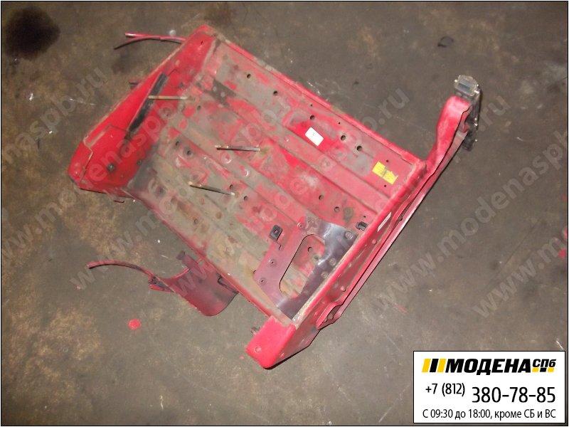 запчасти man Крышка аккумуляторной батареи, цвет красный  81.41860-5363