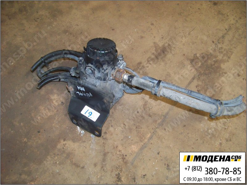 запчасти man Модулятор EBS одноканальный  Knorr-Bremse 0486203016