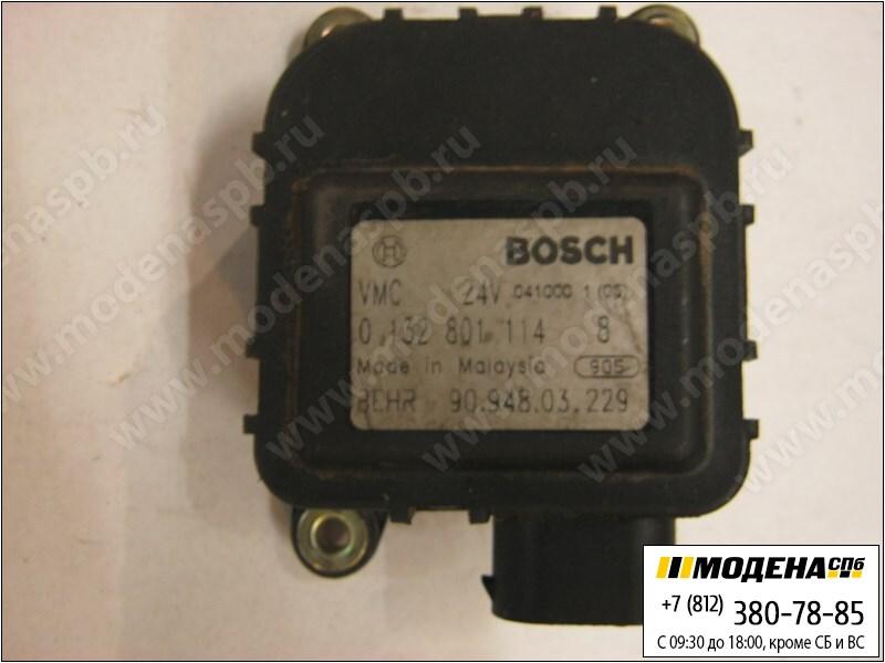 запчасти man Мотор привода заслонок отопителя  Bosch 0132801114