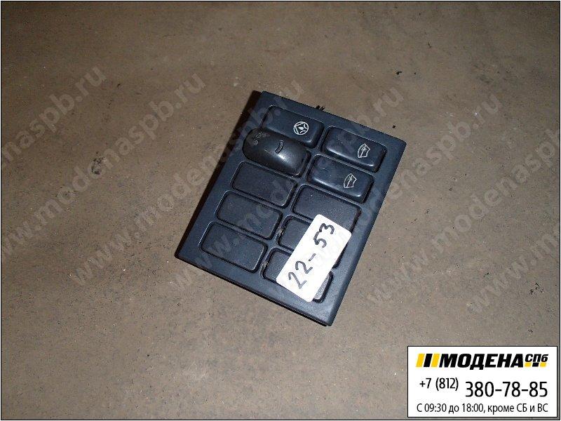 запчасти man Накладка декоративная с выключателями  81.61701-0243