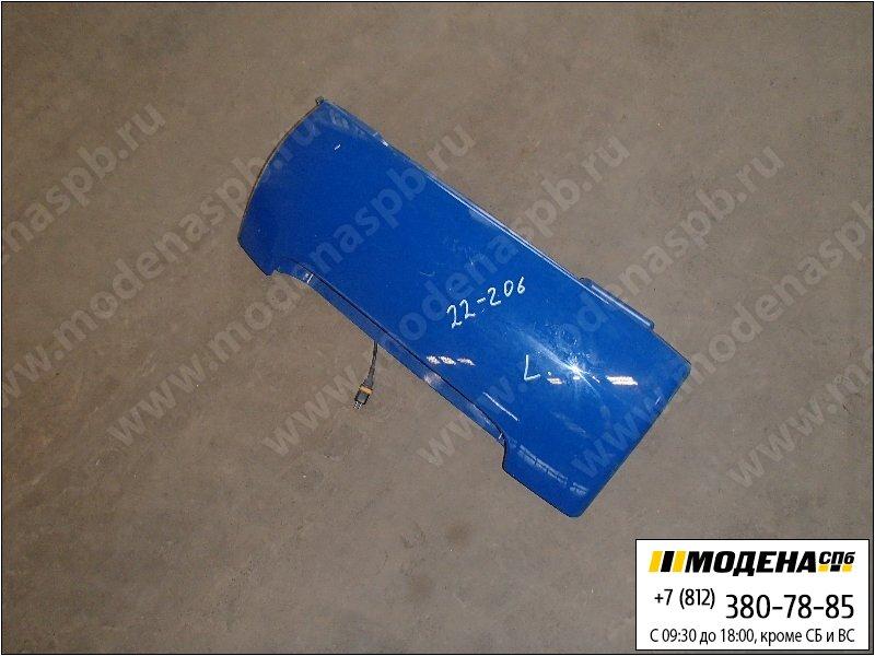 запчасти man Обтекатель кабины, цвет синий  81.62410-0091