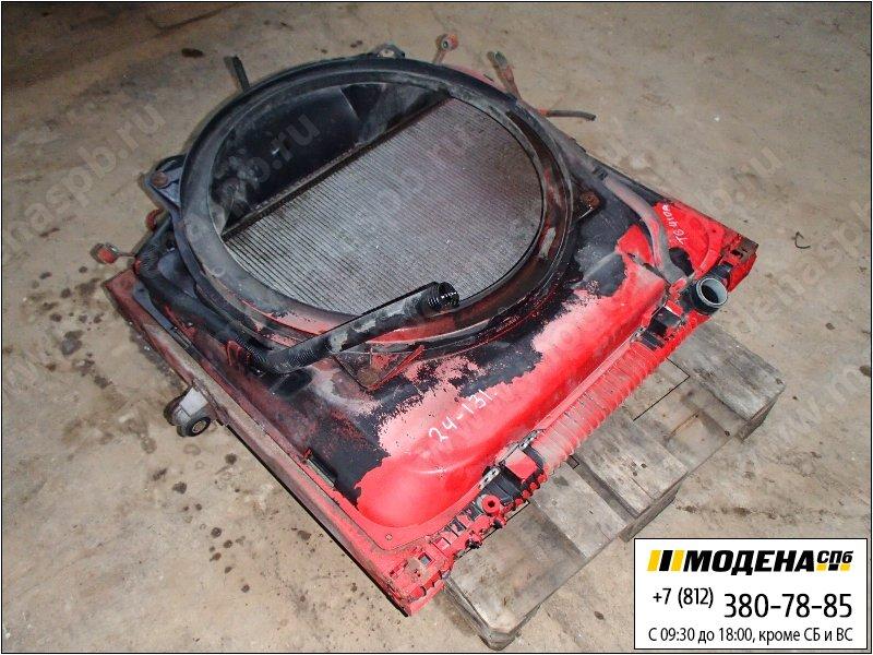 запчасти man Радиатор двигателя и кондиционера с интеркулером в сборе  81.06100-6415