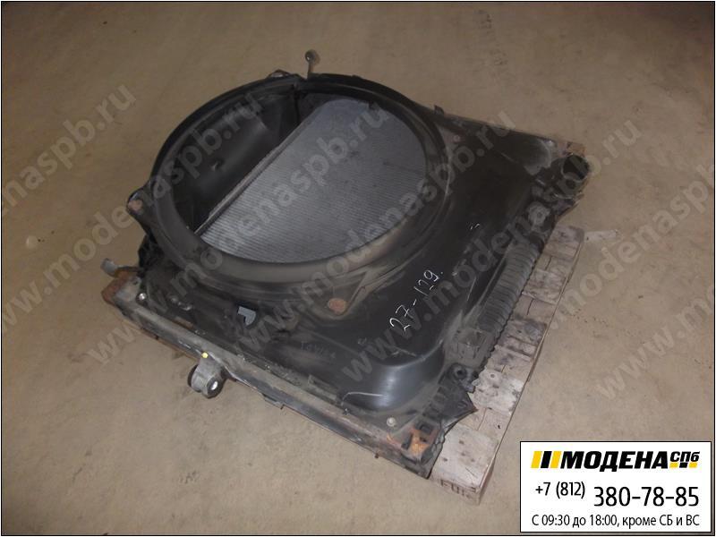 запчасти man Радиатор двигателя и кондиционера с интеркулером в сборе  81.06100-6434