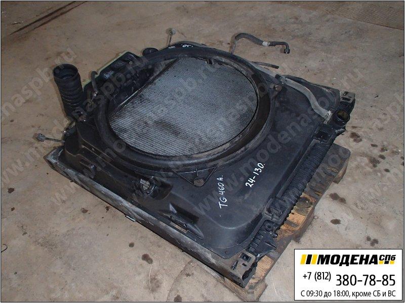 запчасти man Радиатор двигателя и кондиционера с интеркулером в сборе  81.06100-6441