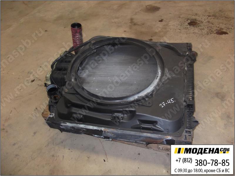 запчасти man Радиатор двигателя и кондиционера с интеркулером в сборе  81.06100-6473