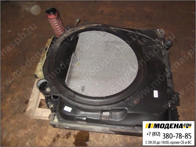 запчасти man Радиатор двигателя с интеркулером в сборе  81.06100-6410
